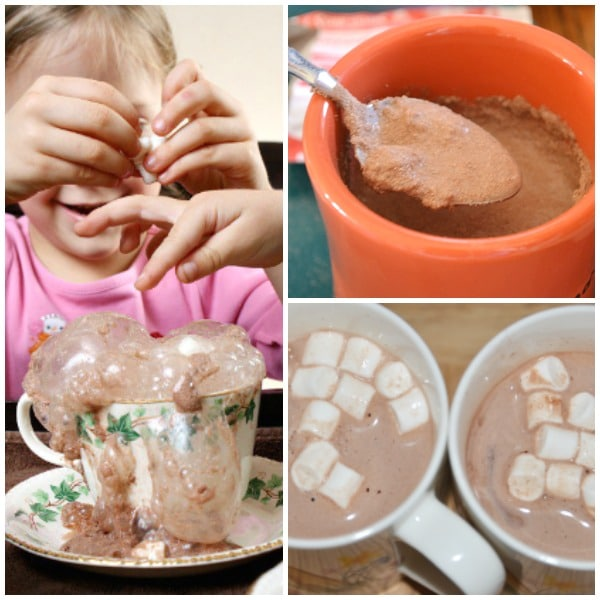Hot Chocolate Science Activities for Kids
