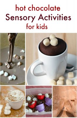 Hot Chocolate Sensory Activities
