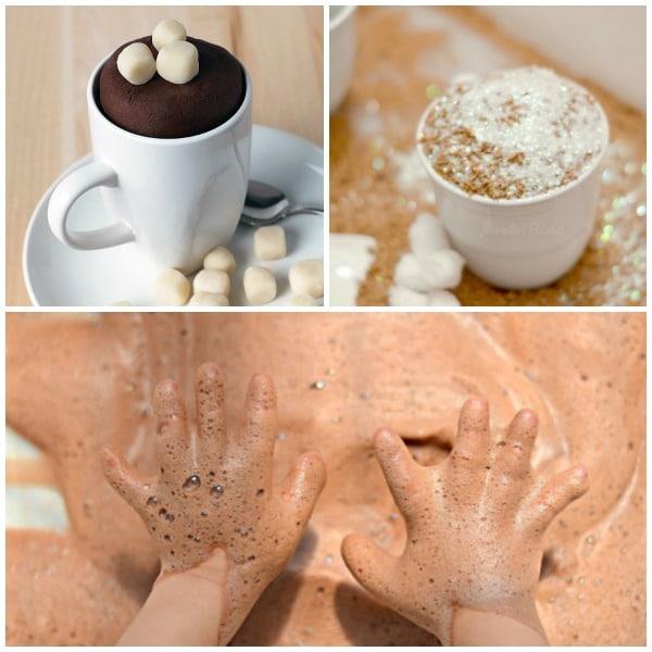 Hot Cocoa Sensory Play