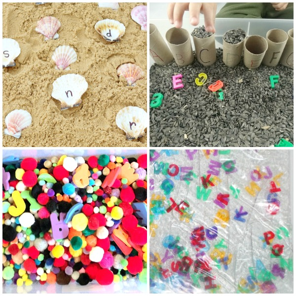 Preschool ABC Sensory Play