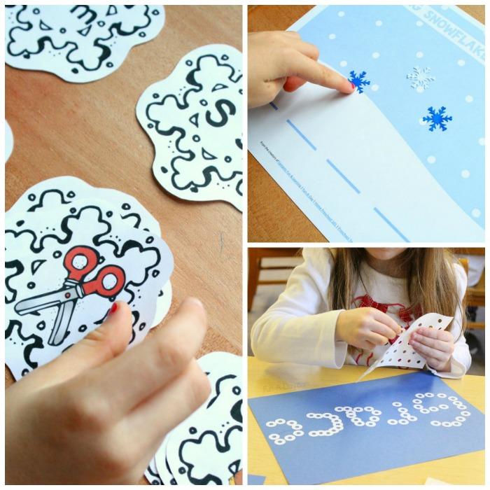 Snowflake Literacy Activites