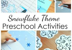 Preschool Snowflake Activities