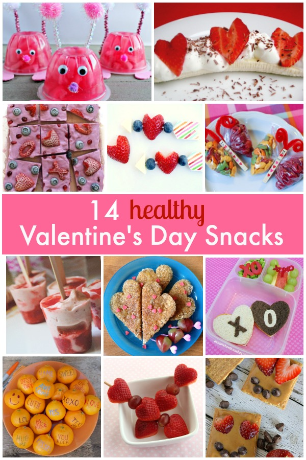 healthy valentines day snack ideas for kids share some love without all of the sugar - Valentine Snacks For School