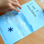 Winter Counting Art Snowflake Emergent Reader