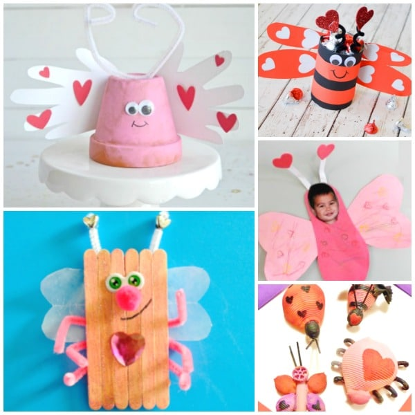 Valentine's Day Love Bug Crafts