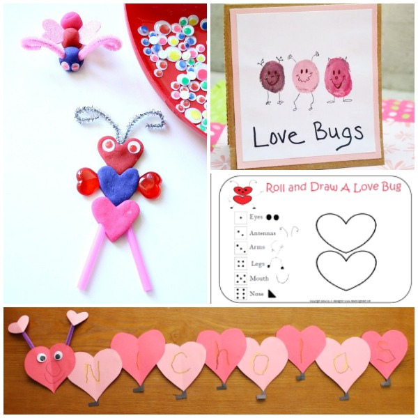 Love Bug Valentine Activities