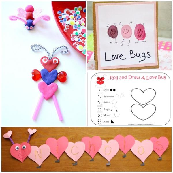 Love Bug Valentine Activities