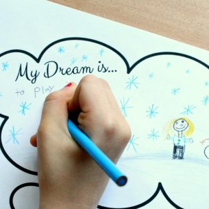 My Dream Is Writing Sheet