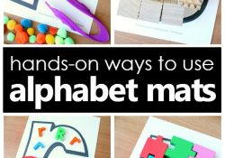 Ways to Use Alphabet Mats for Letter Recognition