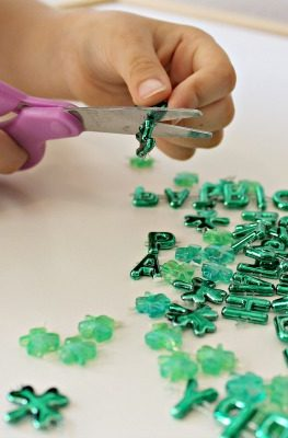 St. Patrick's Day Fine Motor Play
