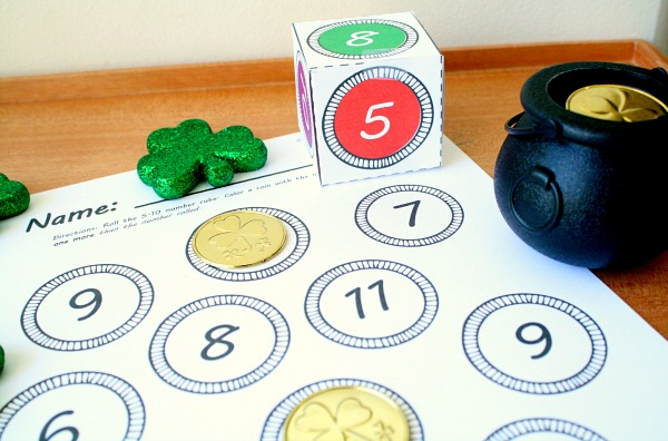 St. Patrick's Day Math for Preschool