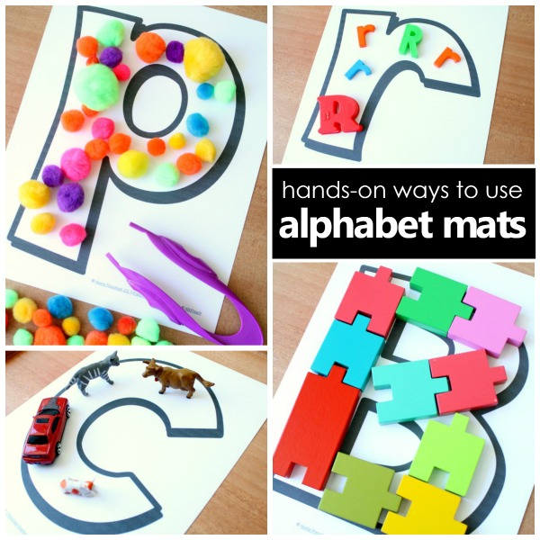 Ways To Use Alphabet Mats For Letter Recognition Fantastic Fun