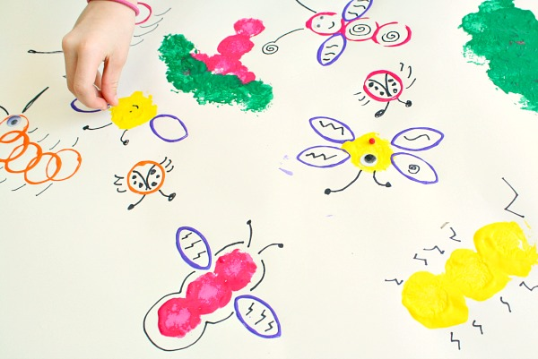 Insect Preschool Art