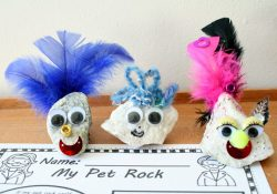 Free Printable Pet Rock Writing