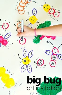 Big Bug Art for Creative Kids