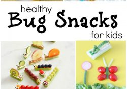 The Cutest Bug Theme Healthy Snacks for Kids