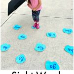 Puddle Jumping Sight Word Game