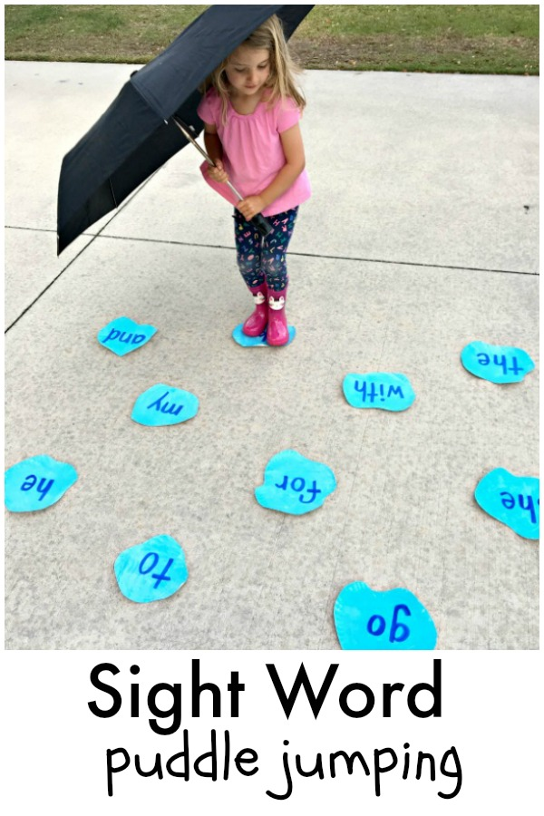Puddle Jumping Sight Word Game Fantastic Fun Learning