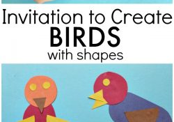Bird Art with 2D Shapes