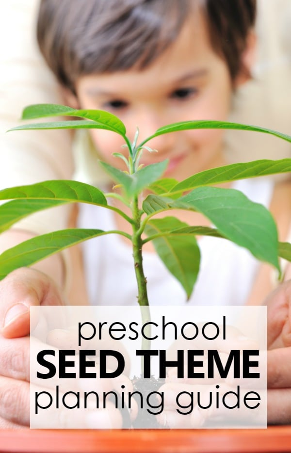 Preschool Seed Theme Planning Guide With Printable Lesson Plans Online Activities And More For