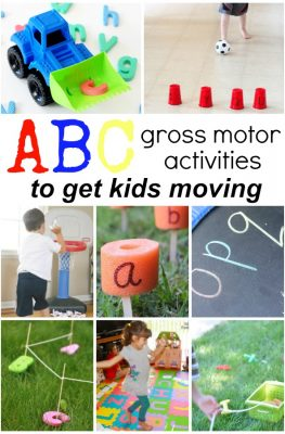 Alphabet Activities that Get Kids Moving