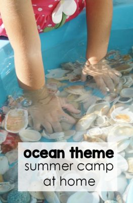 Ocean Theme Summer Camp at Home