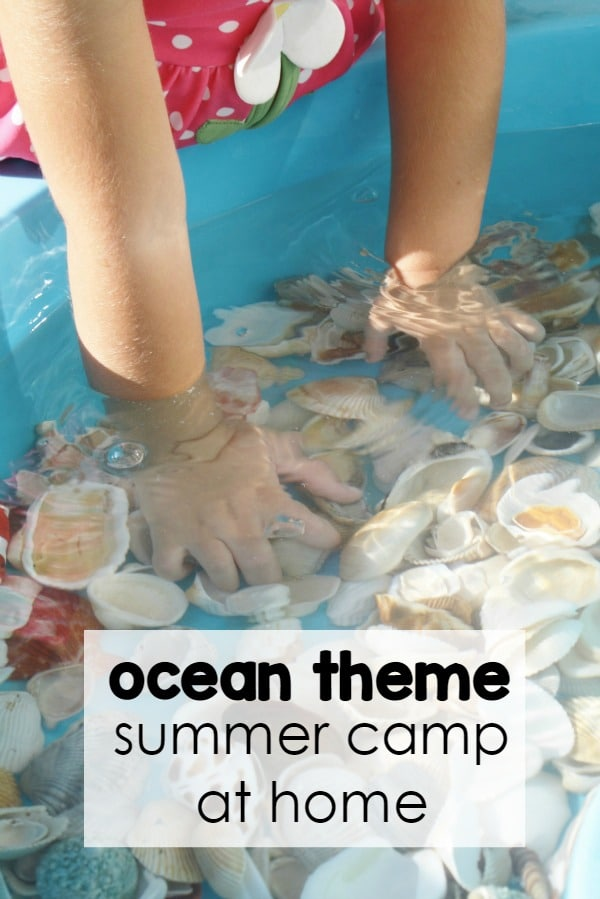 You don't have to go far for summer fun! Join us for 5 days of ocean theme summer camp at home. Part of the 12 weeks of summer camp at home series.