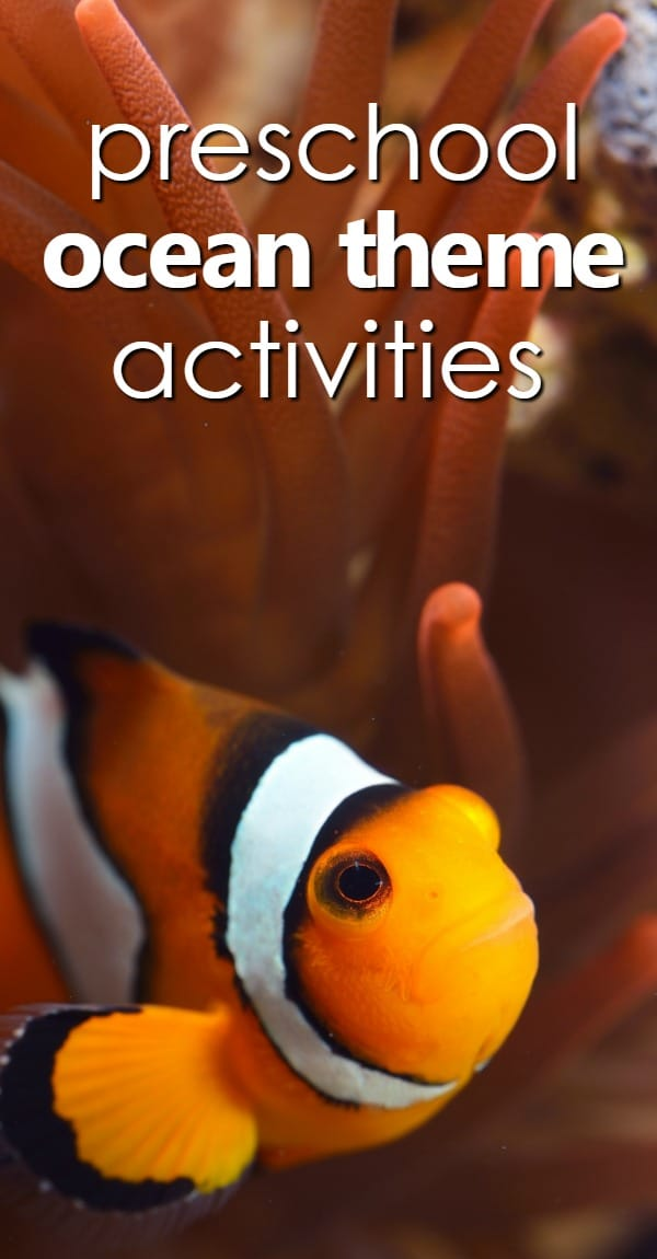 Preschool Ocean Theme Activities...the ultimate resource full of activity ideas, preschool lesson plans, songs, nonfiction videos and more for teaching young kids about the ocean