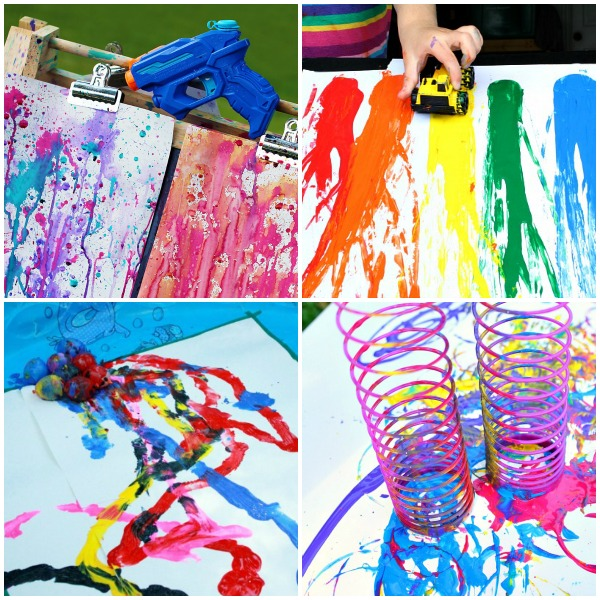 Outdoor Art Activities for Kids