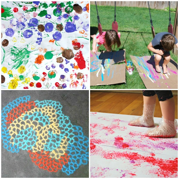 Messy Art Ideas for Kids