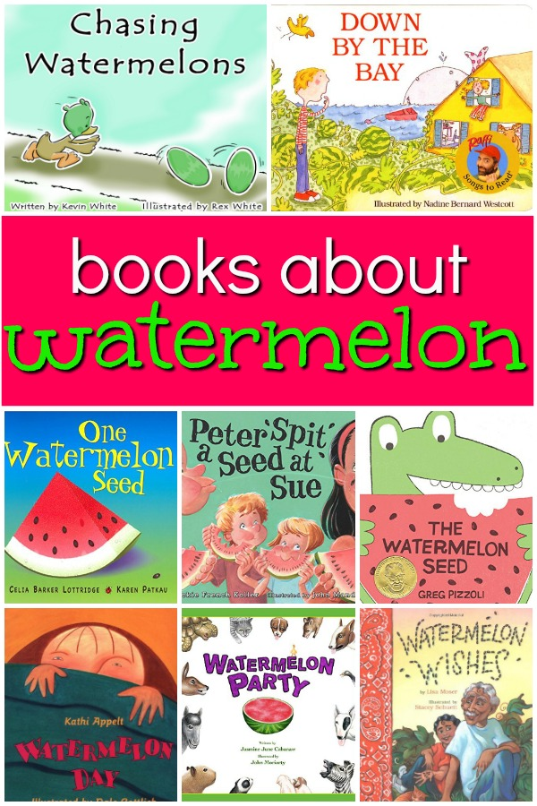 Books About Watermelon...includes summaries of our favorite books for a preschool watermelon theme
