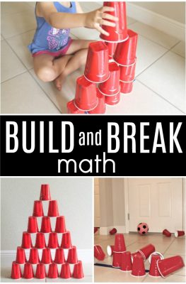 Build and Break Math Game
