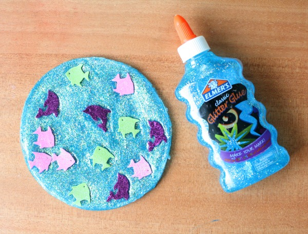 Elmer's Glitter Glue Craft
