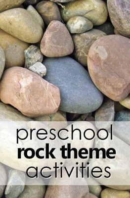 Preschool Rock Theme Activities