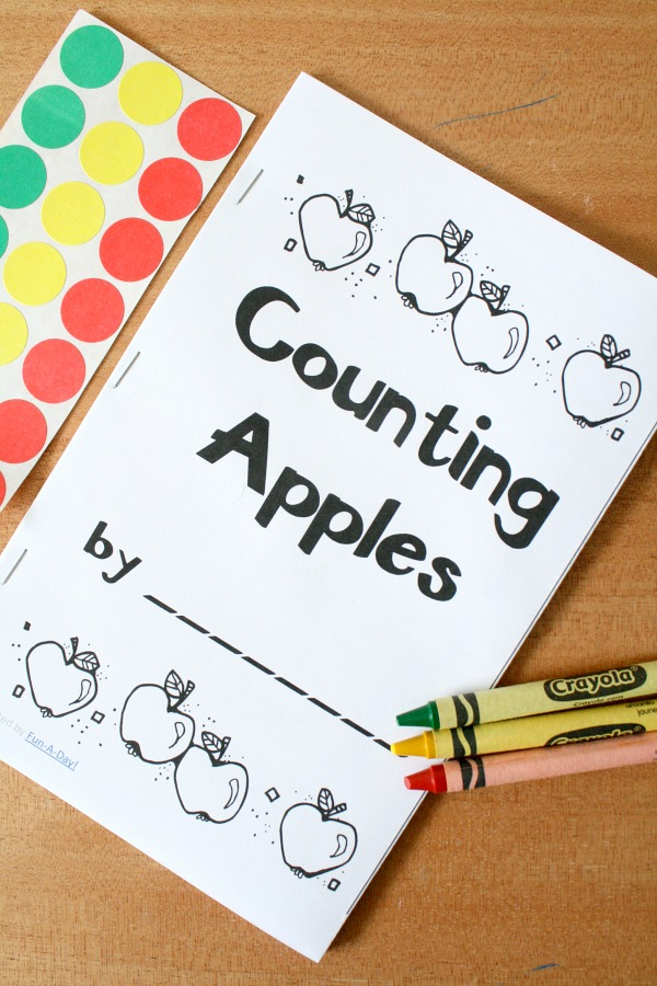 Counting Apples Book