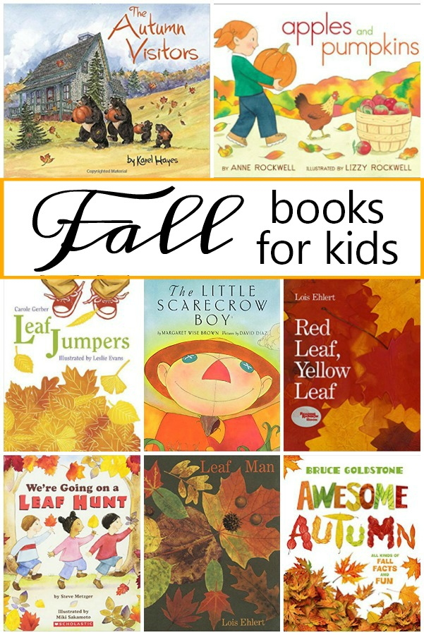 Fall Books for Kids-Favorite fall picture books for preschool and kindergarten