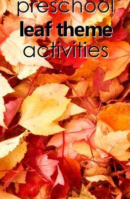 Preschool Fall Leaf Theme Activities