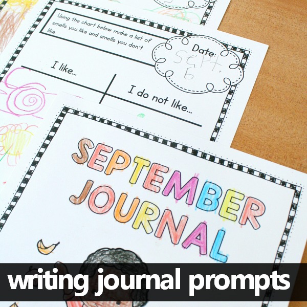 september writing journal prompts fantastic fun amp learning