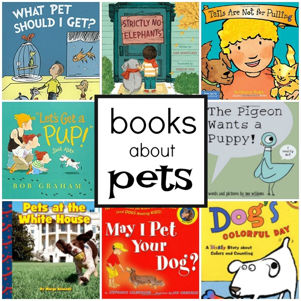 books about pets for kids fantastic fun learning