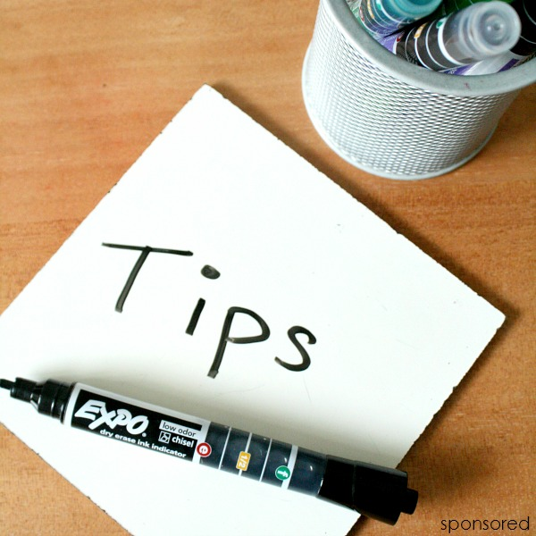 dry erase marker tips for classroom teachers