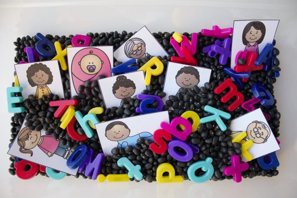 Family Sensory Bin For Kids Fantastic Fun Learning