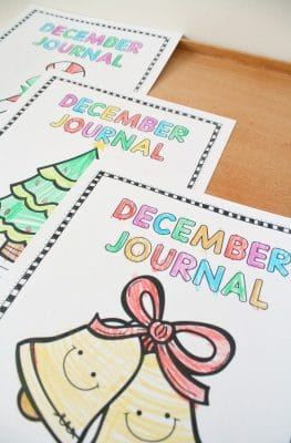 December Writing Journal Prompts for Kids