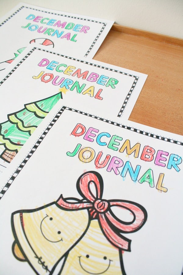 December Writing Journal Prompts for Kids - Fantastic Fun & Learning