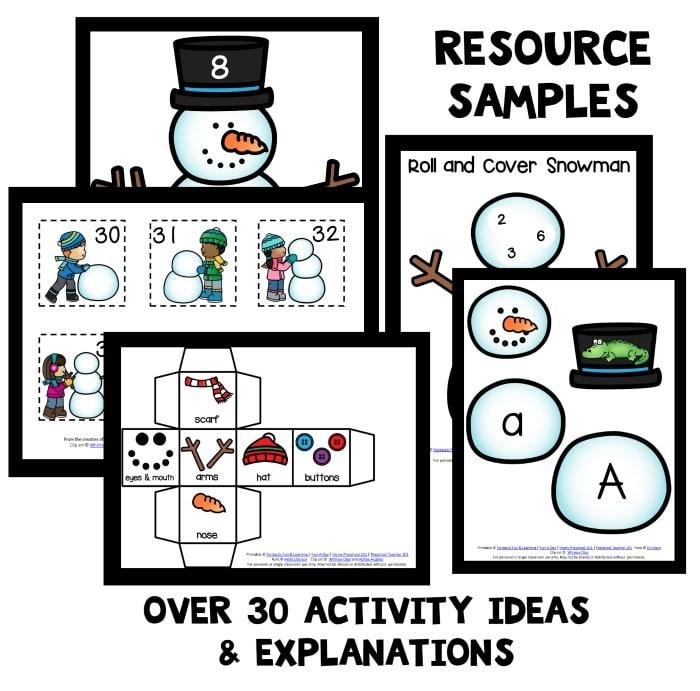 Snowman Sensory Squish Bag Fantastic Fun Learning 21 Great