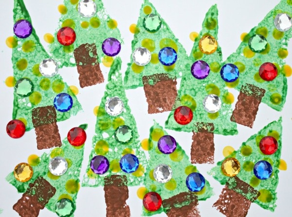Easy Christmas Art for Kids