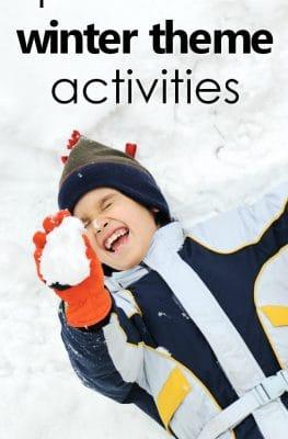 Preschool Winter Theme Activities