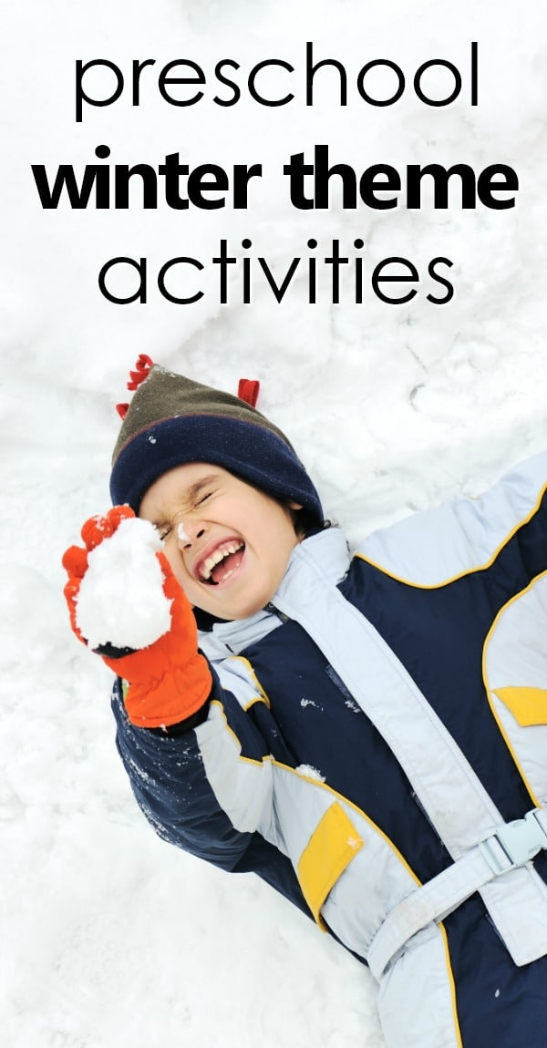 Preschool winter activities-teaching tools, lesson plans, sensory and art ideas, freebies and more! #winter #preschool