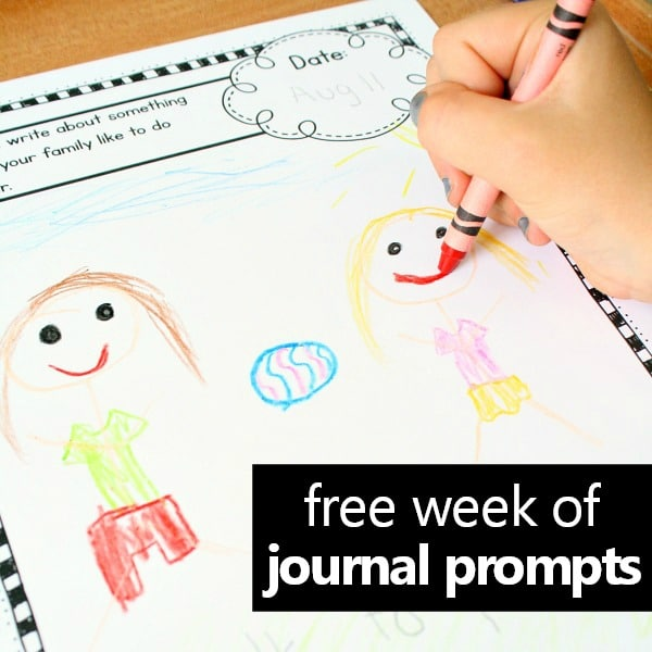 photograph relating to Free Printable Writing Prompts titled February Crafting Magazine Prompts for Small children - Great Pleasurable