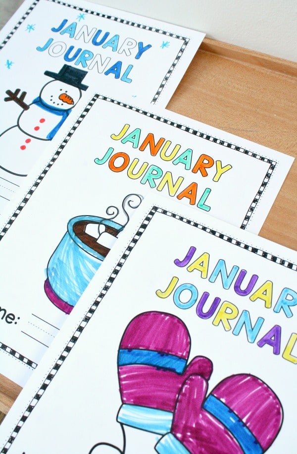 January Writing Journal Prompts for Kids - Fantastic Fun & Learning