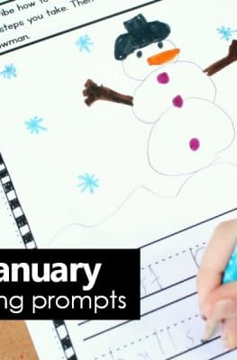 January Writing Journal Prompts for Kids